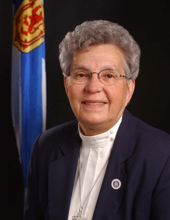 Portrait of Sister Dorothy Moore, CSM.